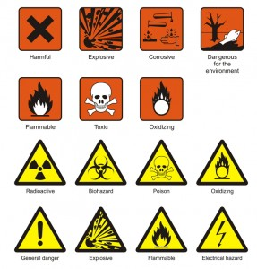As part of OSHA's new Final Rule, employers must adopt and use nine specific pictograms for the chemicals that they make, buy, sell or import.